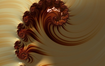 Fractal paint wallpaper