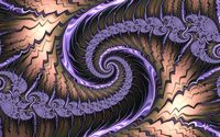 Fractal purple swirl wallpaper 1920x1200 jpg