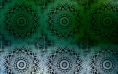 Fractal stars wallpaper