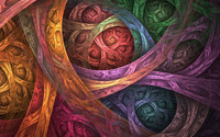 Fractal swirls wallpaper 1920x1080 jpg