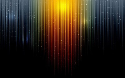 Glowing colorful vertical lines wallpaper