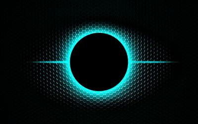 Glowing orb wallpaper