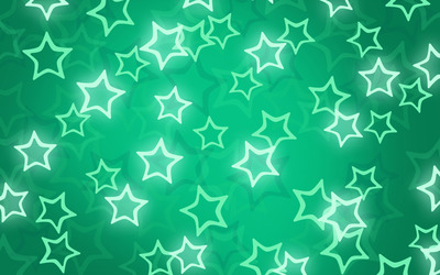 Glowing star pattern wallpaper