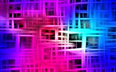 Glowing web wallpaper