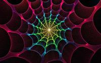 Glowing web tunnel wallpaper 1920x1080 jpg