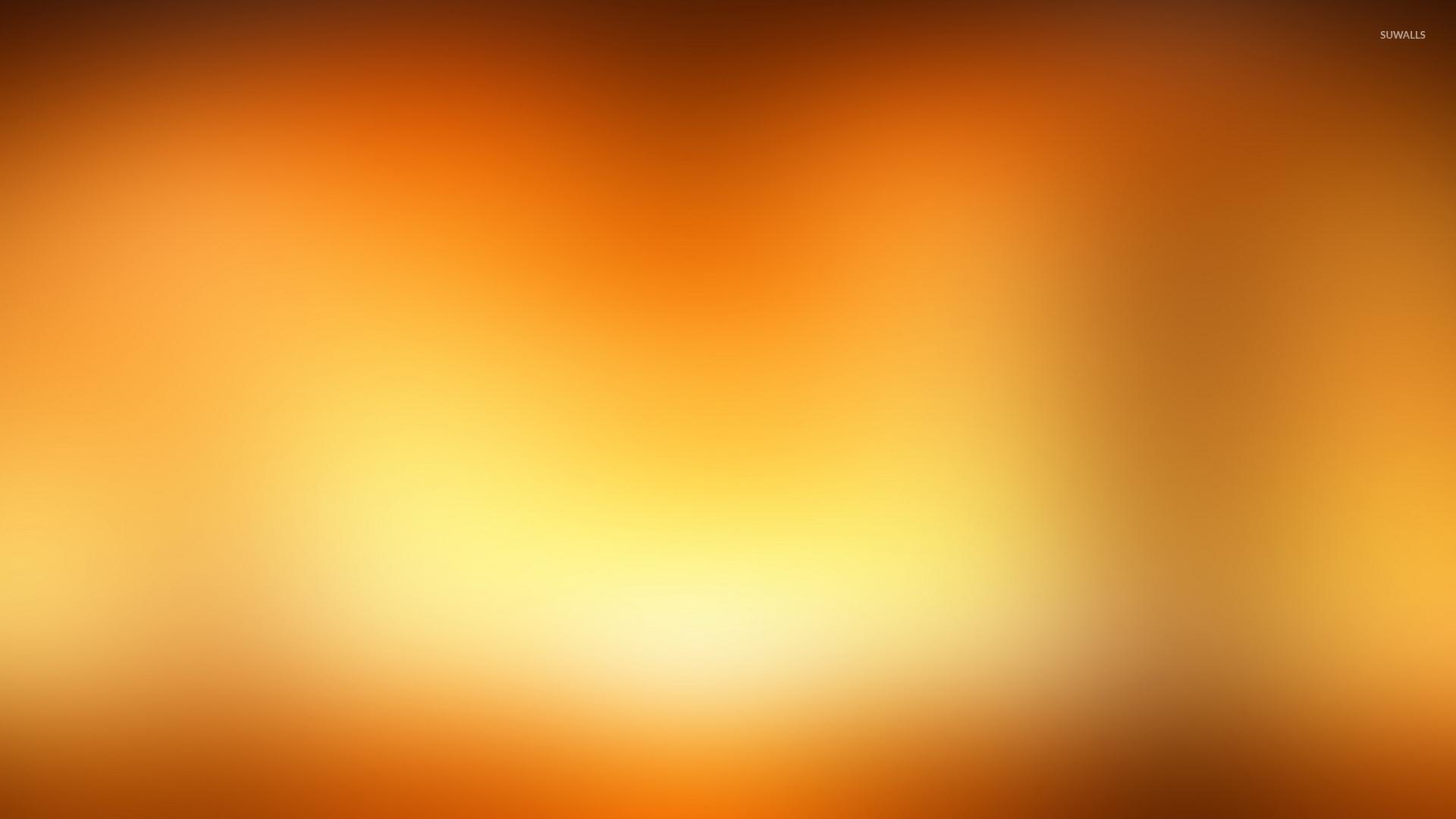 Golden Blur Wallpaper