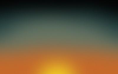 Golden grainy sunset wallpaper