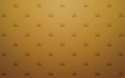 Golden pattern wallpaper