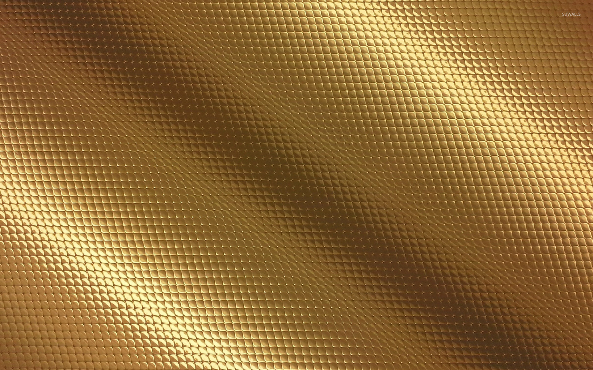 Golden snake skin wallpaper