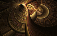 Golden swirl wallpaper 1920x1200 jpg