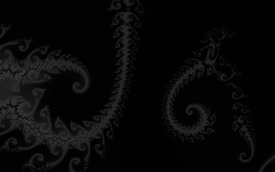 Gray fractal wallpaper