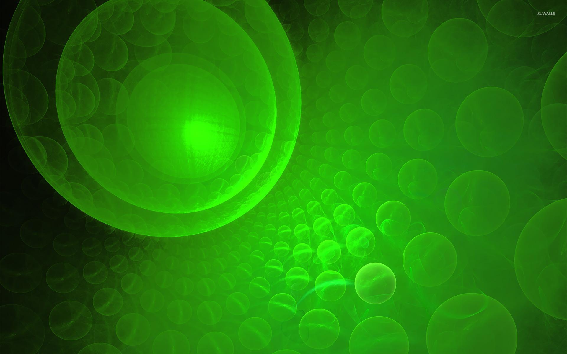 Green Bubble Wallpapers WallpaperPulse