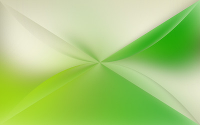 Green prism from above wallpaper