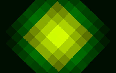 Green rhombus wallpaper