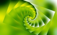 Green spiral wallpaper 1920x1200 jpg