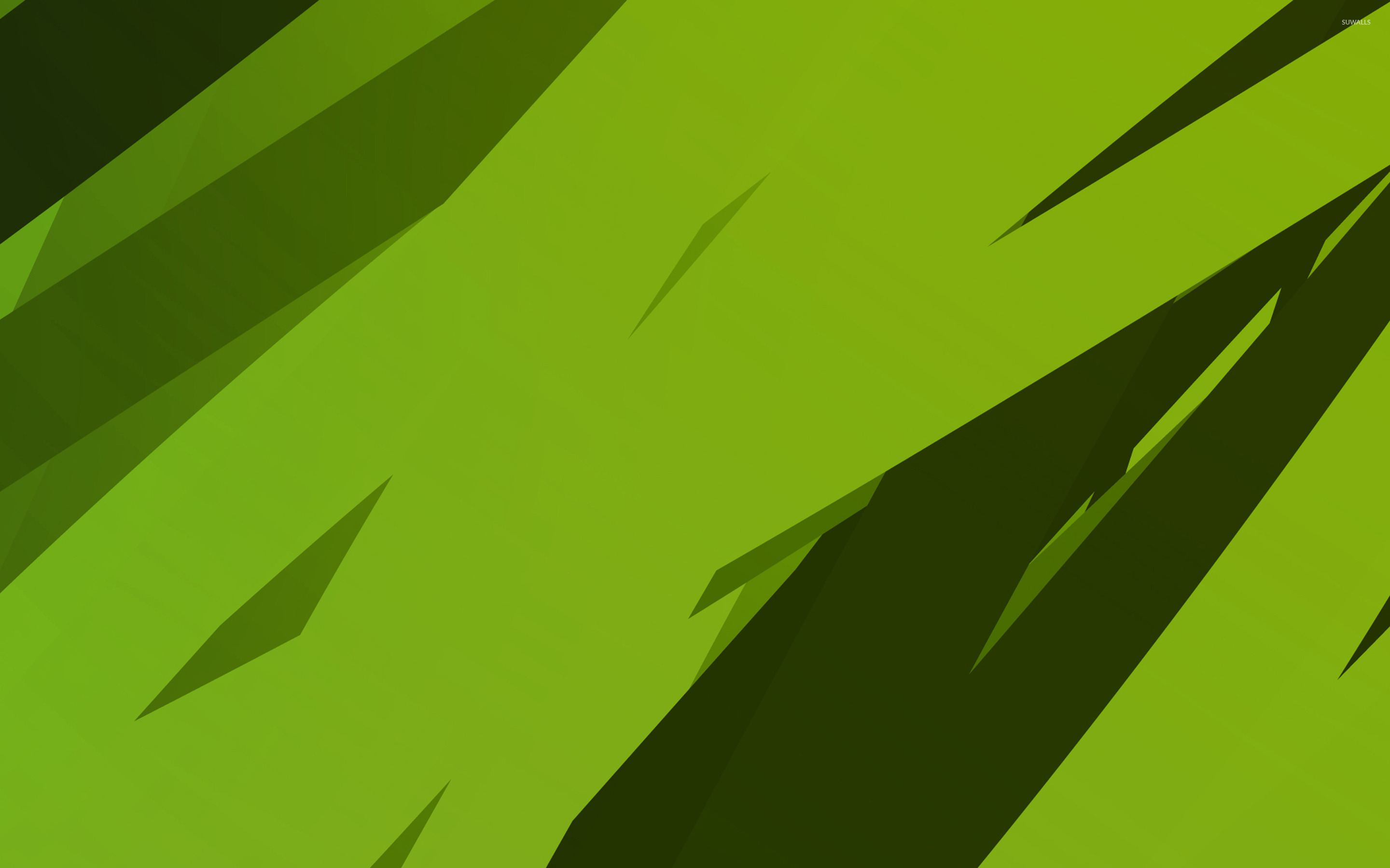 Green stripes wallpaper Abstract wallpapers