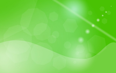 Green transparent shapes wallpaper