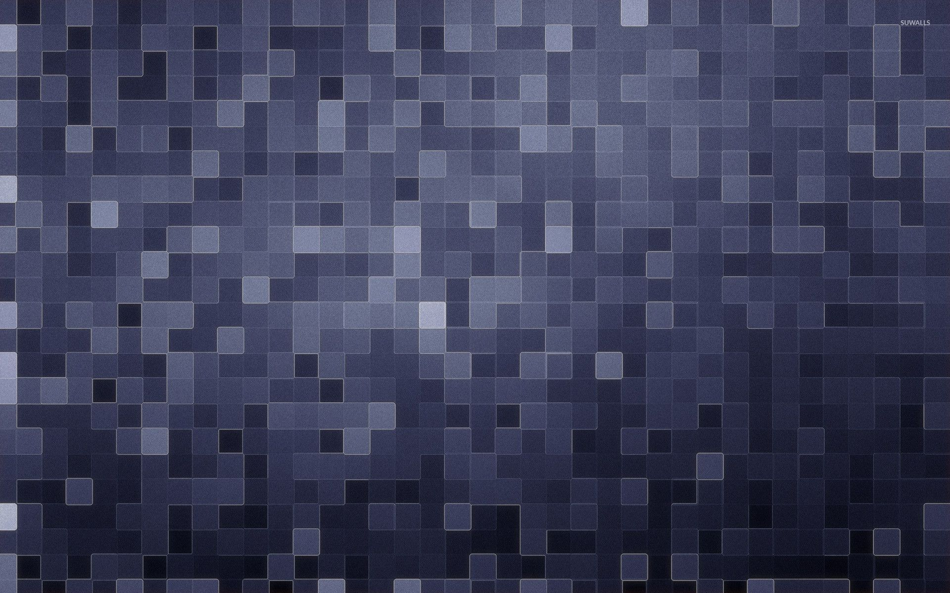 Grey Square Pattern Wallpaper