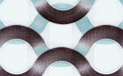 Grunge waves wallpaper