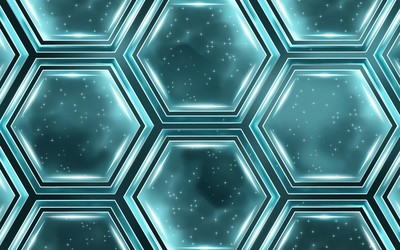 Hexagons [6] wallpaper