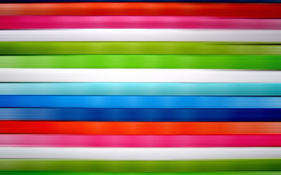 Horizontal colorful stripes wallpaper