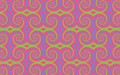 Hypnotic swirls wallpaper