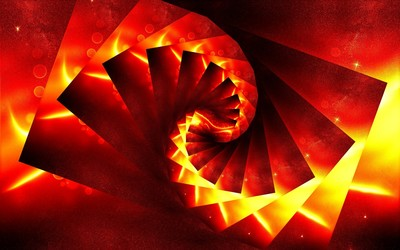 Lava spiral wallpaper