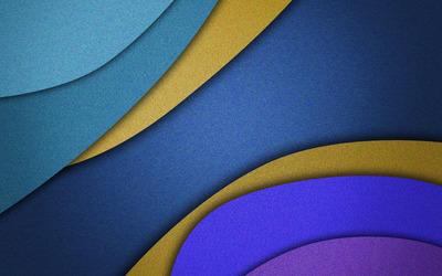 Layerered shapes wallpaper