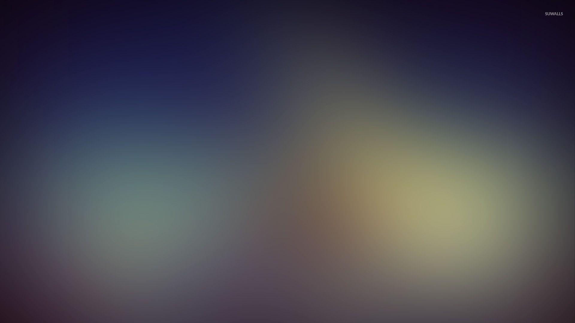 Light Blue Glow Wallpaper Abstract Blur 1920x1080