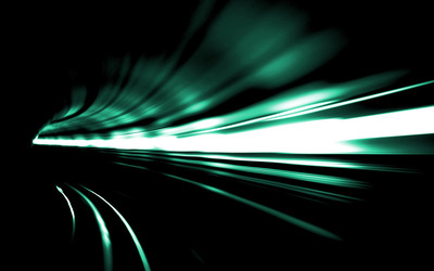 Light in the tunnel wallpaper