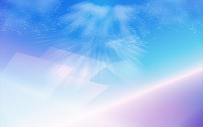 Light rays wallpaper