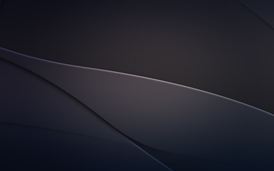 Metallic curves wallpaper