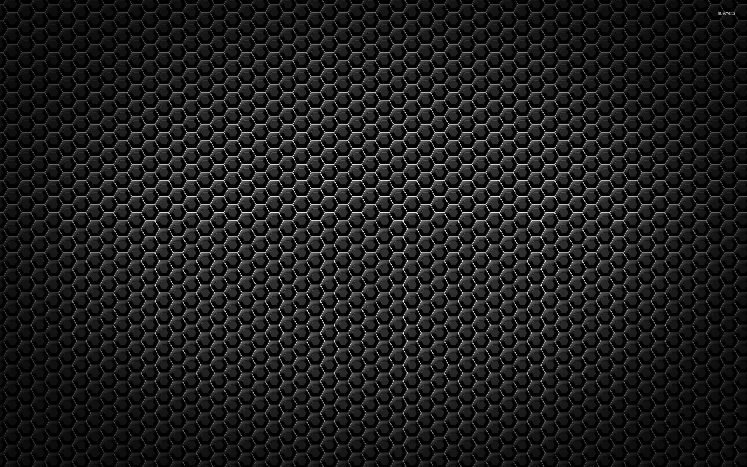 Metallic honeycomb pattern wallpaper abstract wallpapers for Metallic wallpaper
