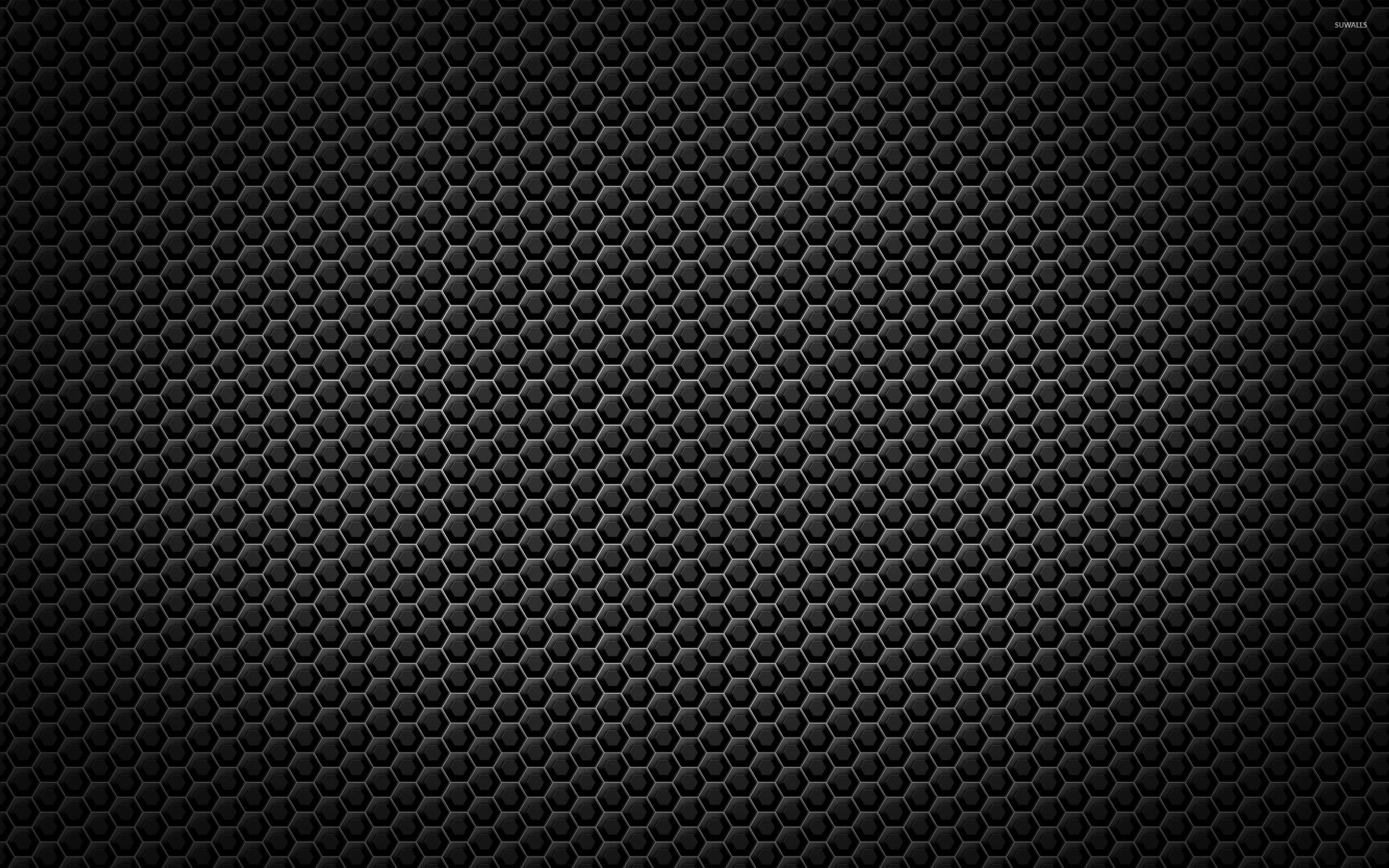 Metallic honeycomb pattern wallpaper abstract wallpapers for Metallic wallpaper