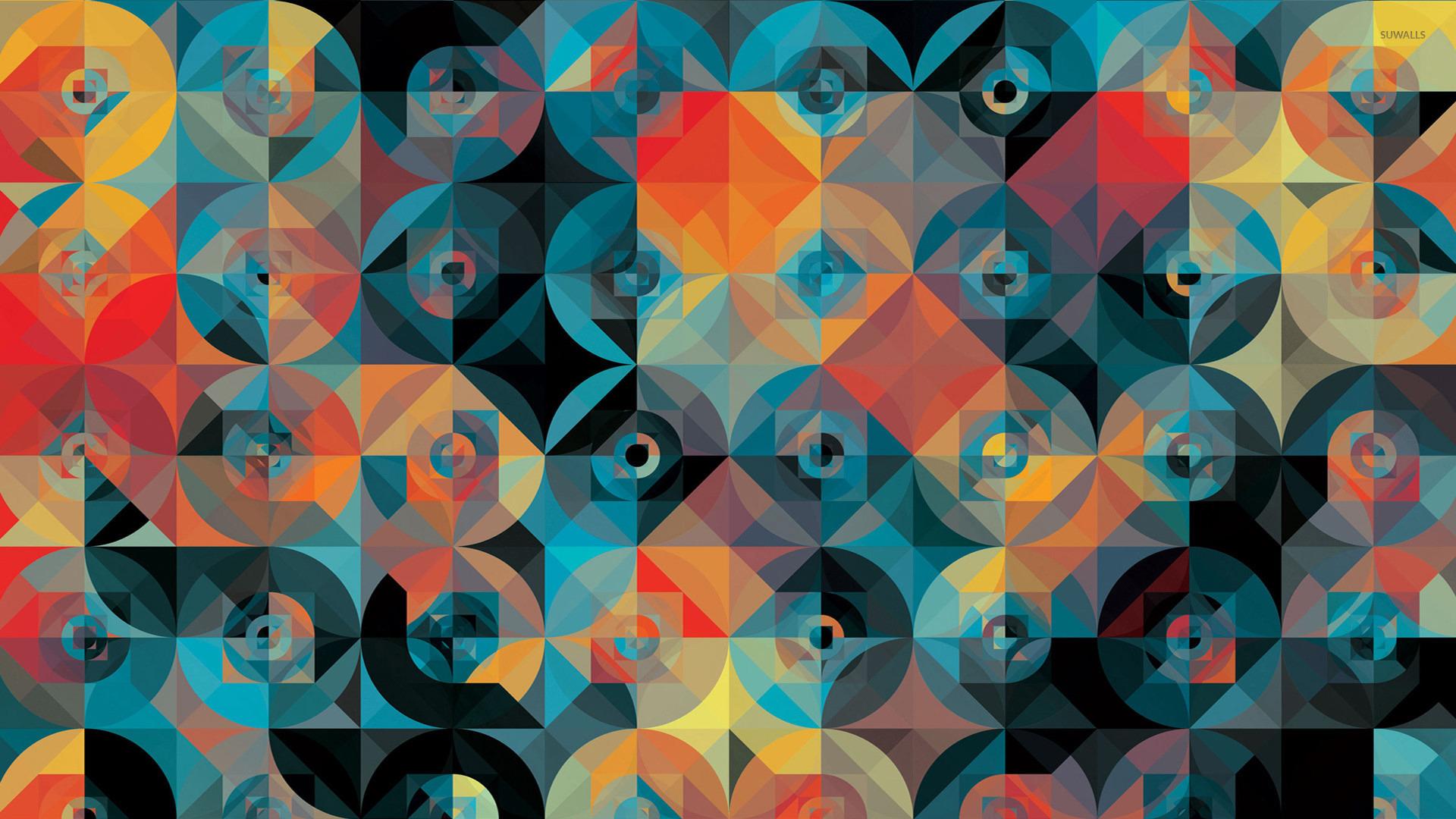 mosaic  3  wallpaper - abstract wallpapers