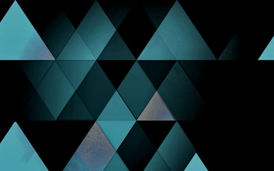 Mosaic triangles wallpaper