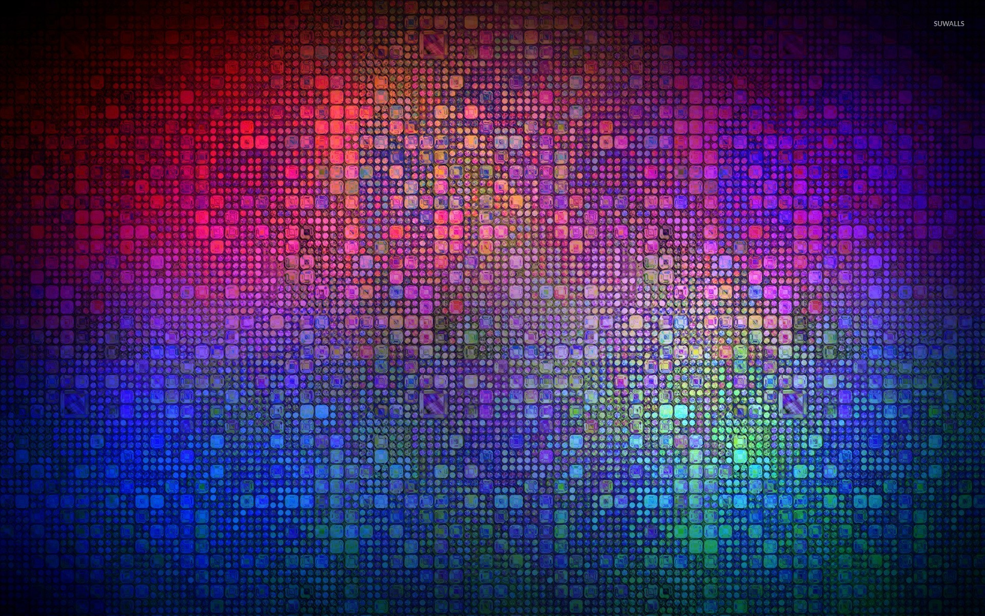 Multicolored mosaic wallpaper abstract wallpapers 26924 for Mosaic wallpaper for walls