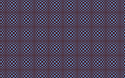 Hypnotic square pattern wallpaper