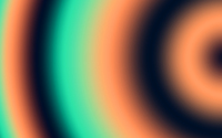 Orange and green circles wallpaper 2880x1800 jpg