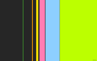 Neon colorful stripes wallpaper