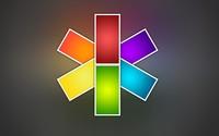 Neon star wallpaper 2560x1600 jpg