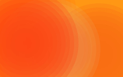 Orange rings wallpaper