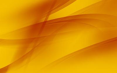 Orange waves wallpaper