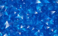 Overlapping blue and silver triangles wallpaper 1920x1200 jpg