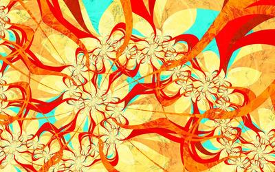 Paint flow [3] wallpaper