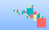 Pastel squares wallpaper 2560x1600 jpg