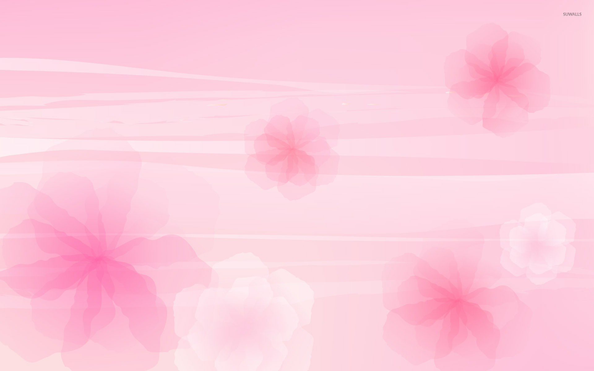 Pink Flowers 2 Wallpaper Abstract Wallpapers 18959