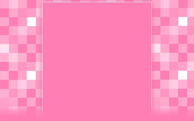 Pink square pattern wallpaper