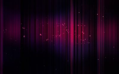 Pink stripes and glowing circles wallpaper