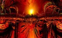 Pipes through the lava wallpaper 2880x1800 jpg